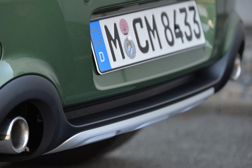 GALLERY: MINI Countryman, Paceman facelift detailed Image #258310