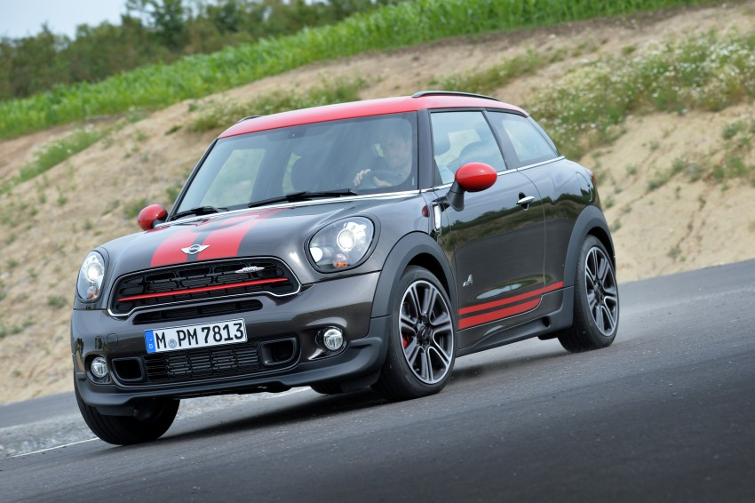 GALLERY: MINI Countryman, Paceman facelift detailed Image #258497