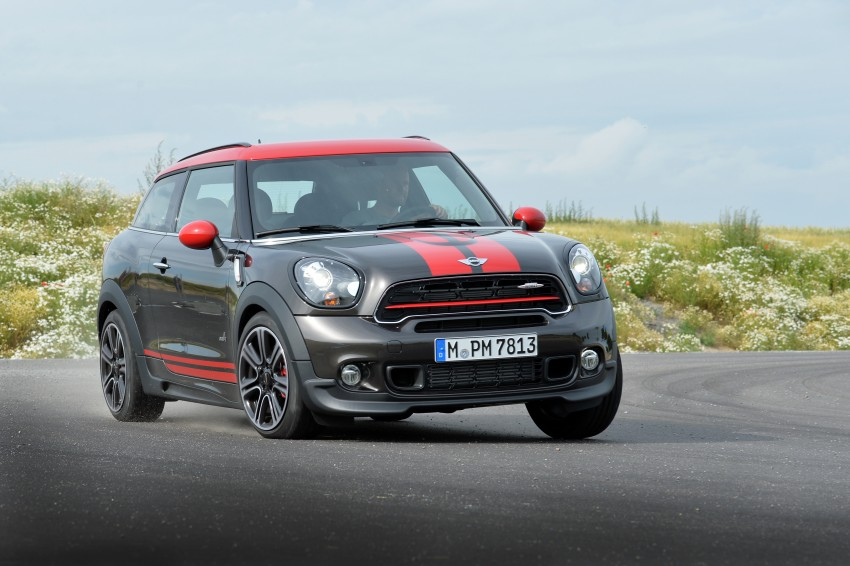 GALLERY: MINI Countryman, Paceman facelift detailed Image #258516
