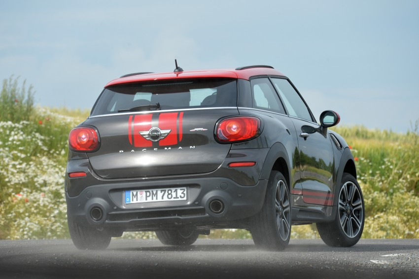 GALLERY: MINI Countryman, Paceman facelift detailed Image #258519