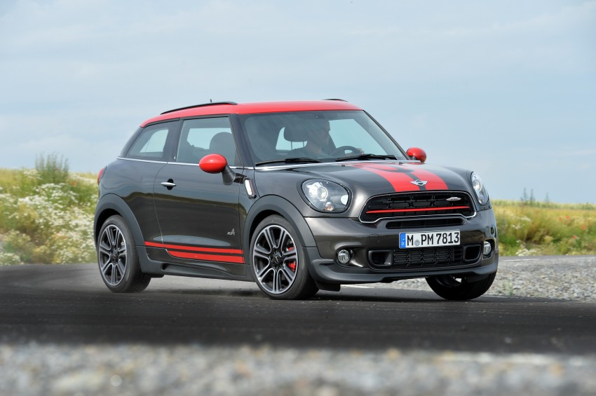 GALLERY: MINI Countryman, Paceman facelift detailed Image #258550