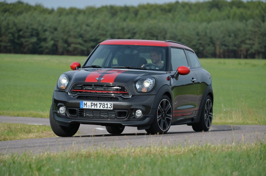 GALLERY: MINI Countryman, Paceman facelift detailed Image #258540
