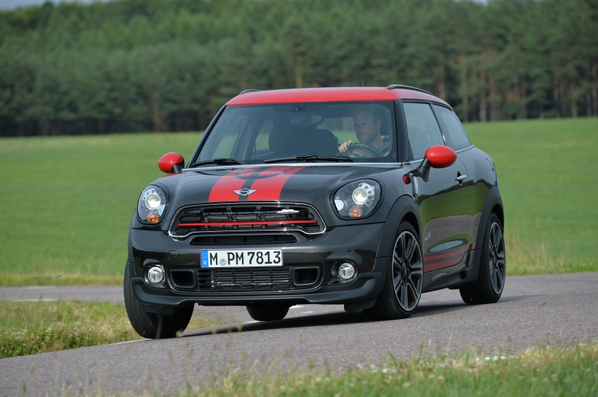 GALLERY: MINI Countryman, Paceman facelift detailed Image #258511