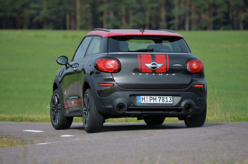 GALLERY: MINI Countryman, Paceman facelift detailed Image #258554