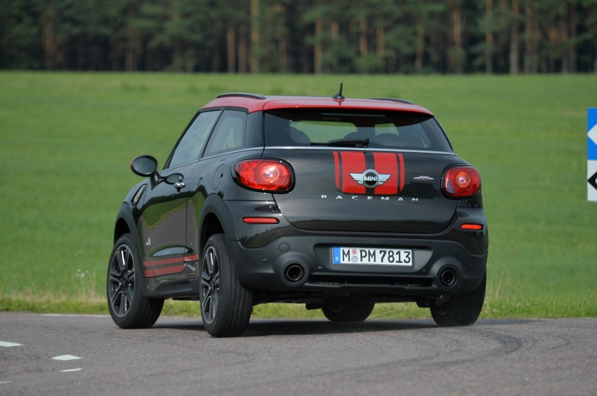GALLERY: MINI Countryman, Paceman facelift detailed Image #258549