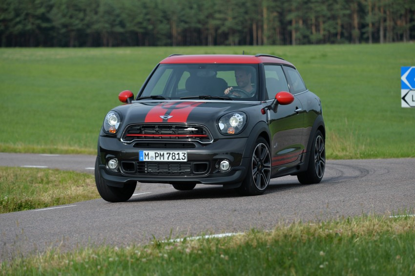 GALLERY: MINI Countryman, Paceman facelift detailed Image #258491