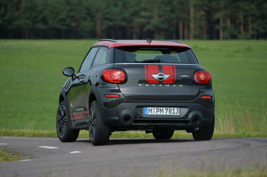 GALLERY: MINI Countryman, Paceman facelift detailed Image #258542