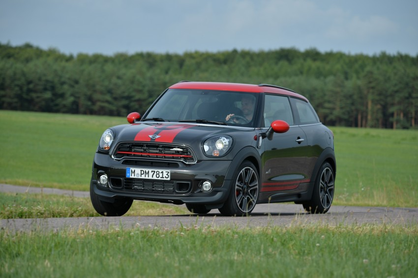 GALLERY: MINI Countryman, Paceman facelift detailed Image #258543