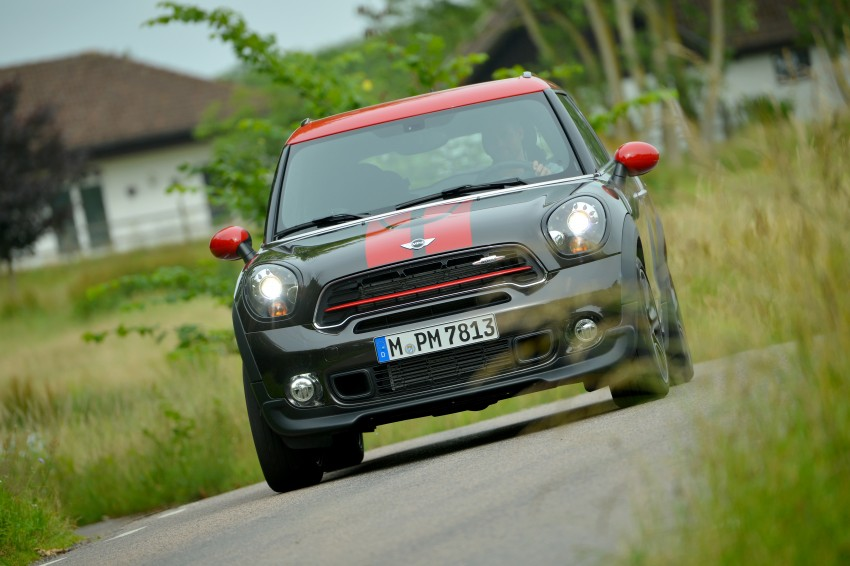 GALLERY: MINI Countryman, Paceman facelift detailed Image #258472