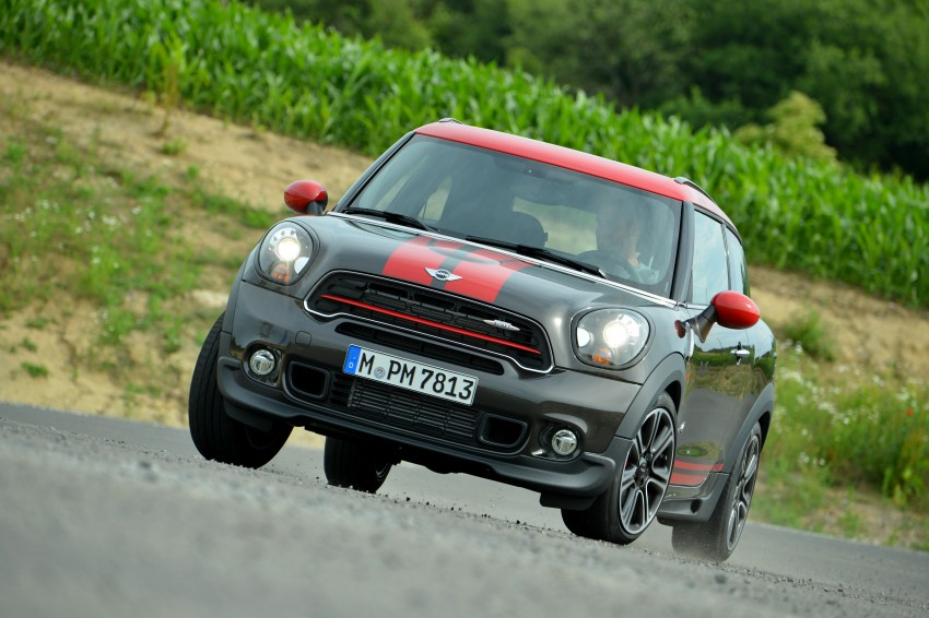 GALLERY: MINI Countryman, Paceman facelift detailed Image #258478