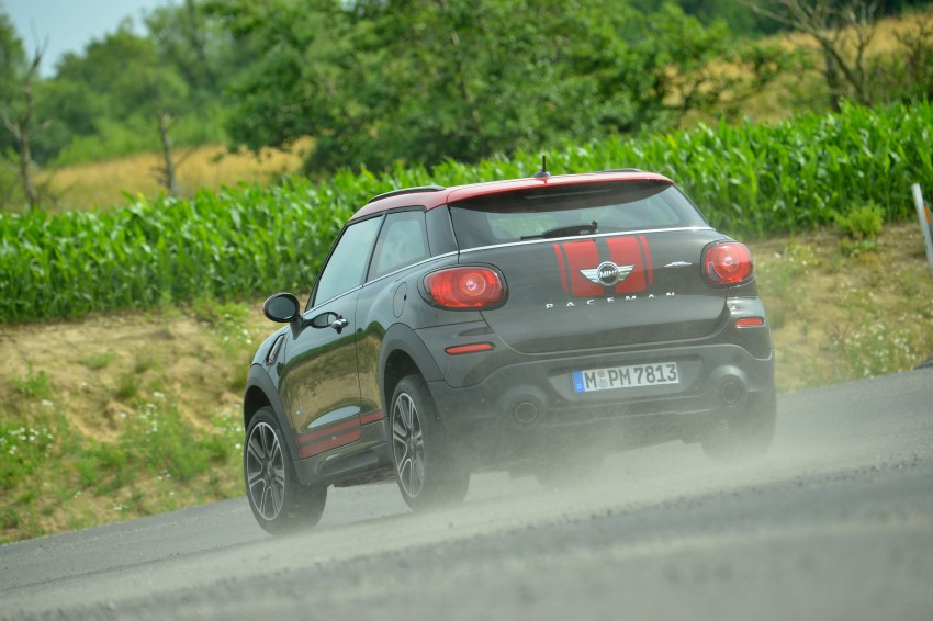 GALLERY: MINI Countryman, Paceman facelift detailed Image #258480