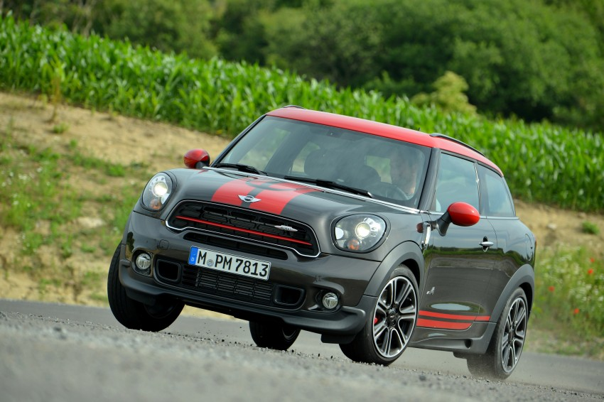 GALLERY: MINI Countryman, Paceman facelift detailed Image #258466