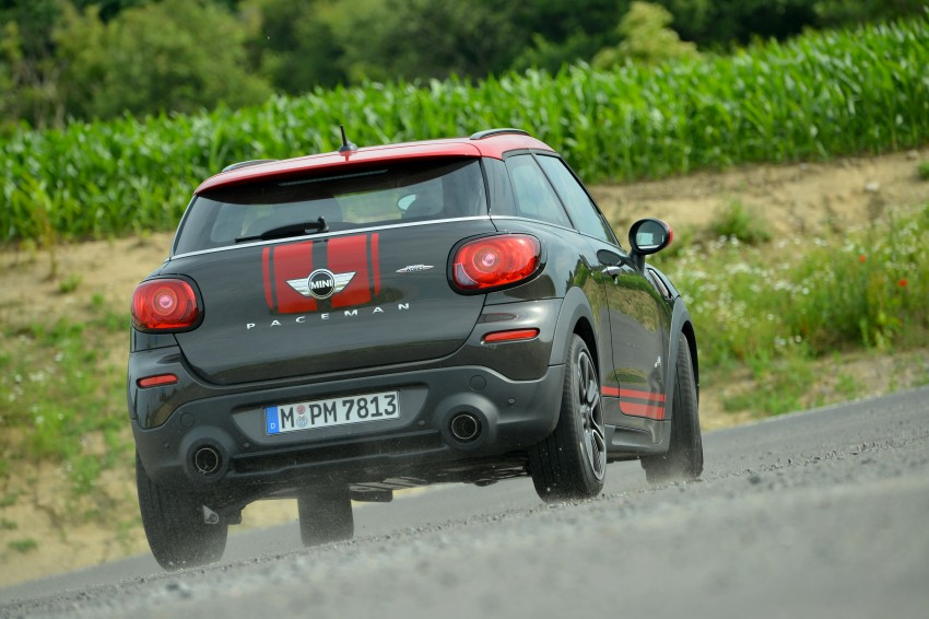 GALLERY: MINI Countryman, Paceman facelift detailed Image #258464