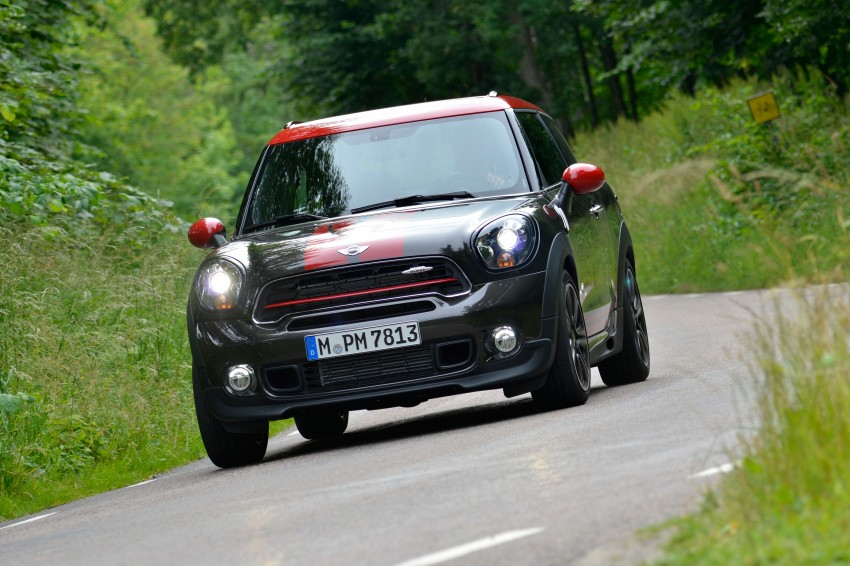 GALLERY: MINI Countryman, Paceman facelift detailed Image #258417