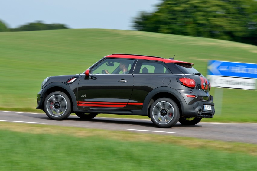 GALLERY: MINI Countryman, Paceman facelift detailed Image #258494