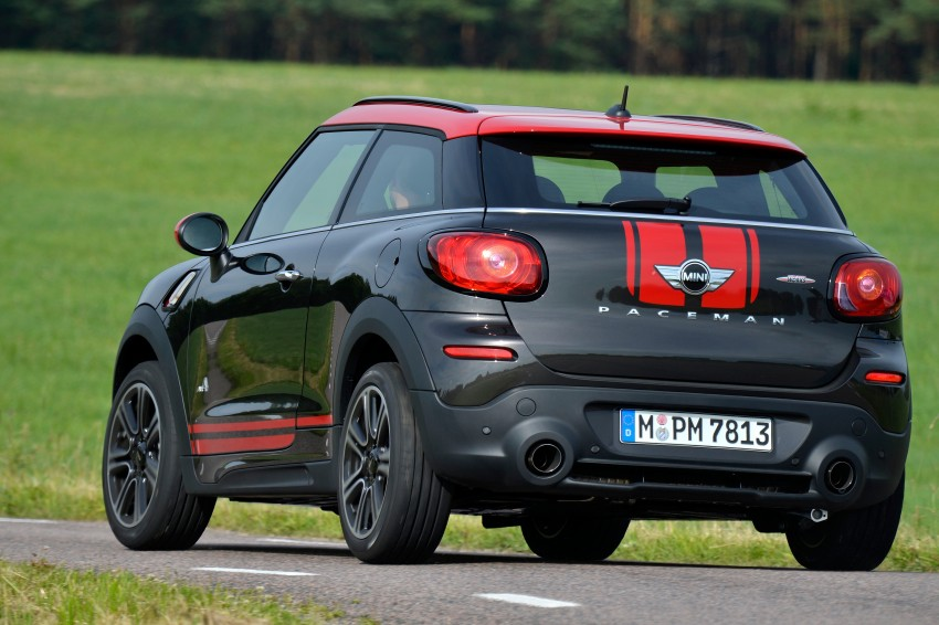 GALLERY: MINI Countryman, Paceman facelift detailed Image #258439