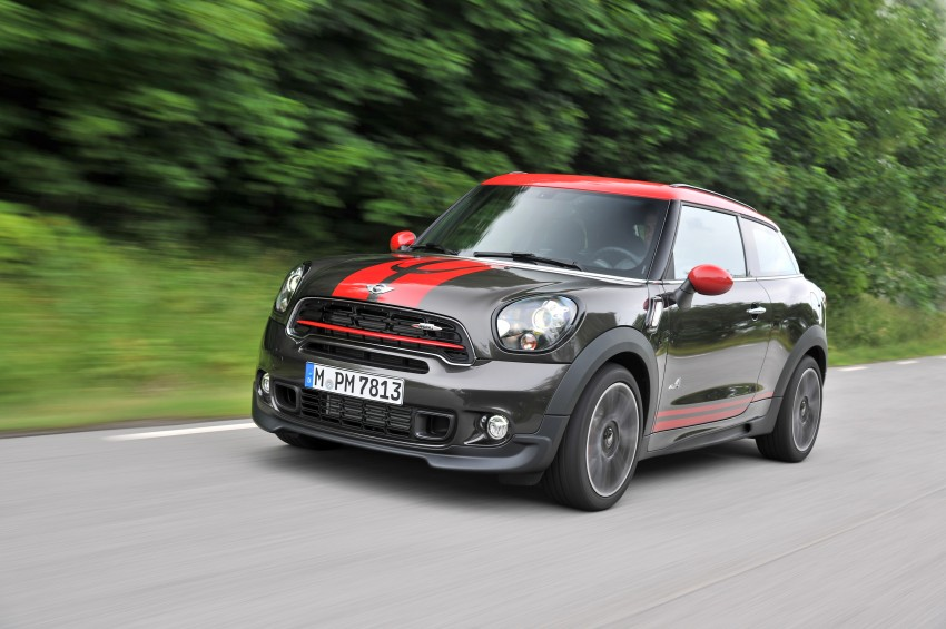 GALLERY: MINI Countryman, Paceman facelift detailed Image #258481