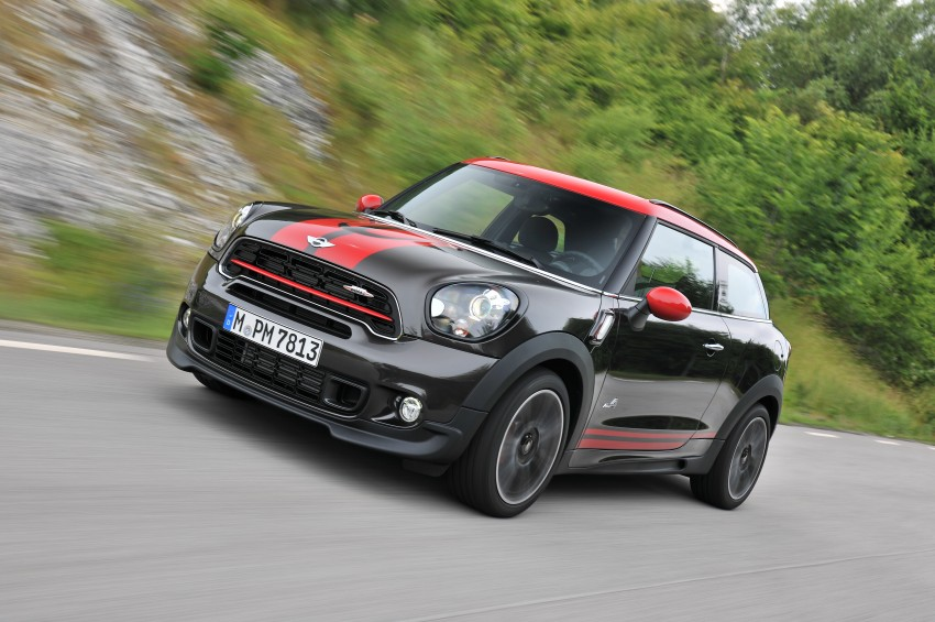 GALLERY: MINI Countryman, Paceman facelift detailed Image #258442