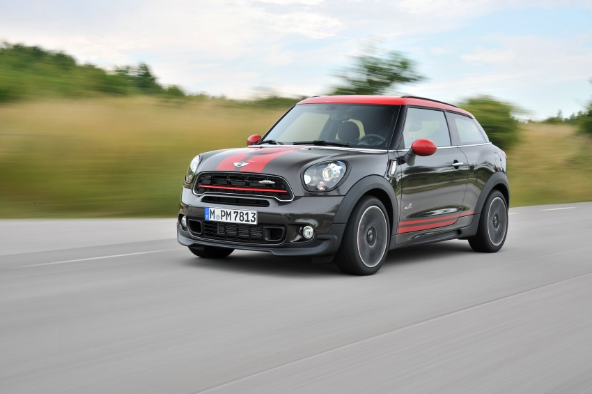 GALLERY: MINI Countryman, Paceman facelift detailed Image #258552