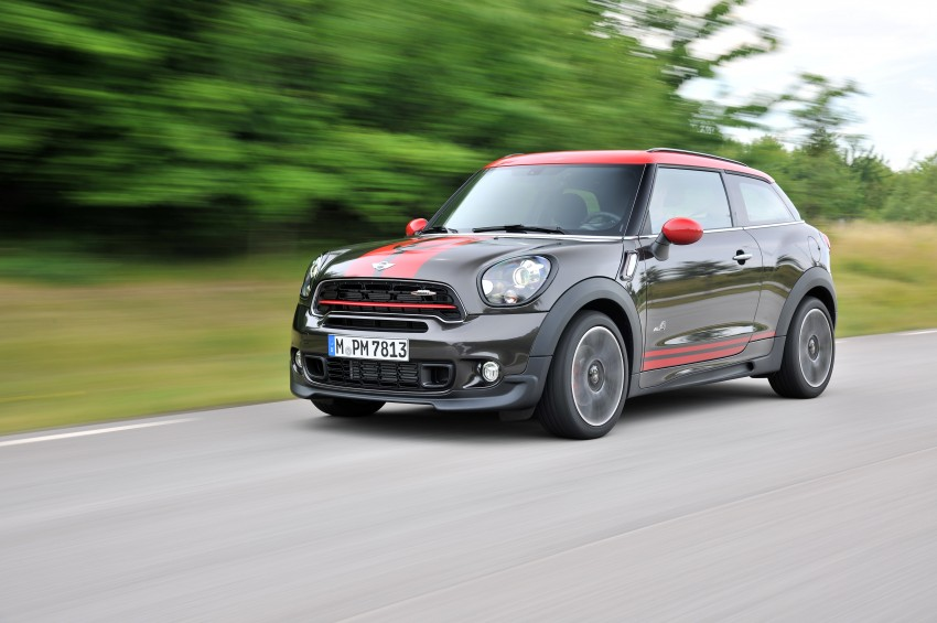 GALLERY: MINI Countryman, Paceman facelift detailed Image #258501