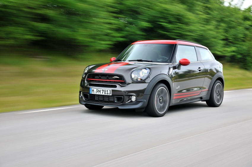 GALLERY: MINI Countryman, Paceman facelift detailed Image #258495
