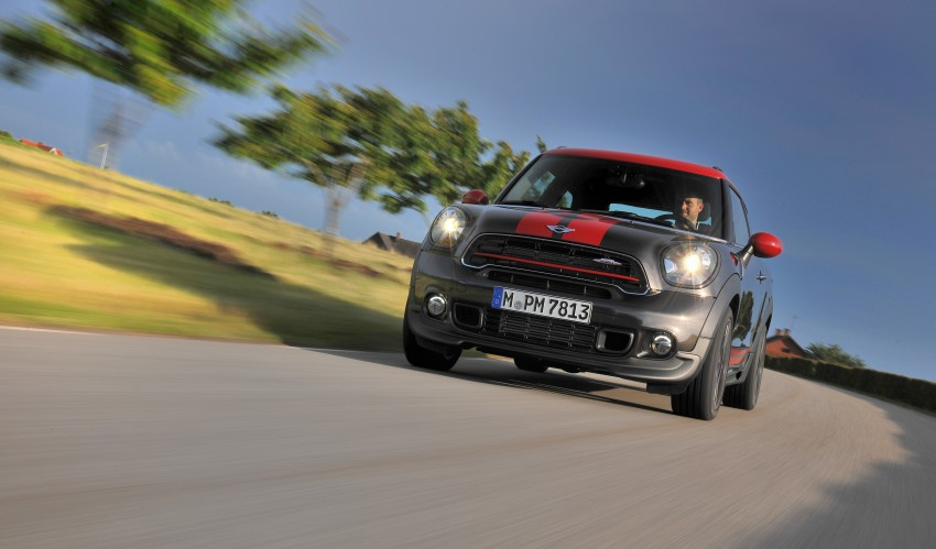 GALLERY: MINI Countryman, Paceman facelift detailed Image #258509