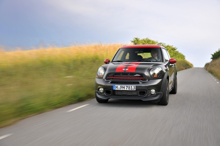 GALLERY: MINI Countryman, Paceman facelift detailed Image #258545