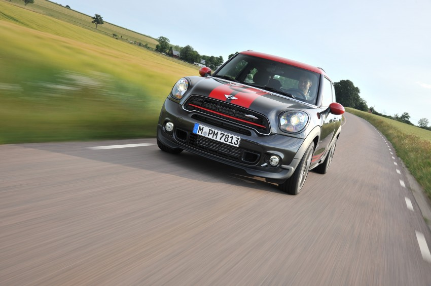 GALLERY: MINI Countryman, Paceman facelift detailed Image #258504