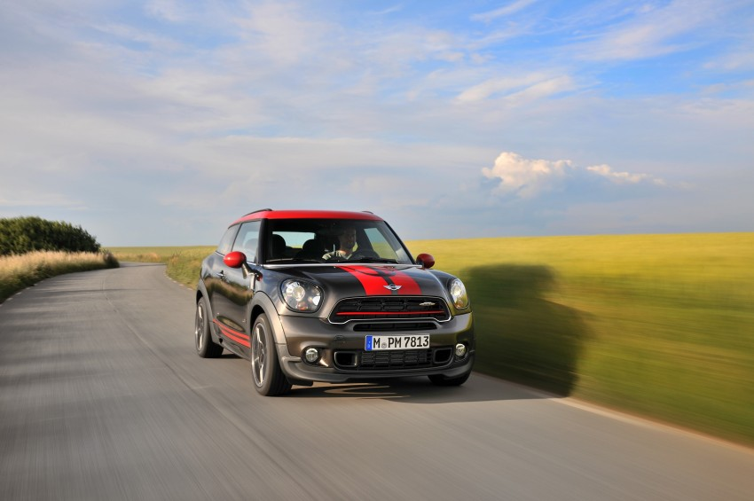 GALLERY: MINI Countryman, Paceman facelift detailed Image #258505