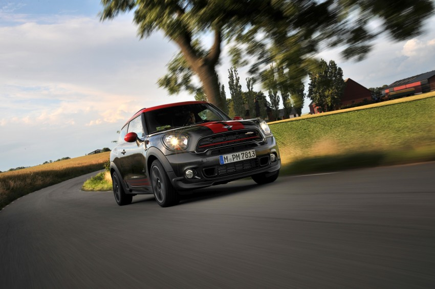 GALLERY: MINI Countryman, Paceman facelift detailed Image #258447