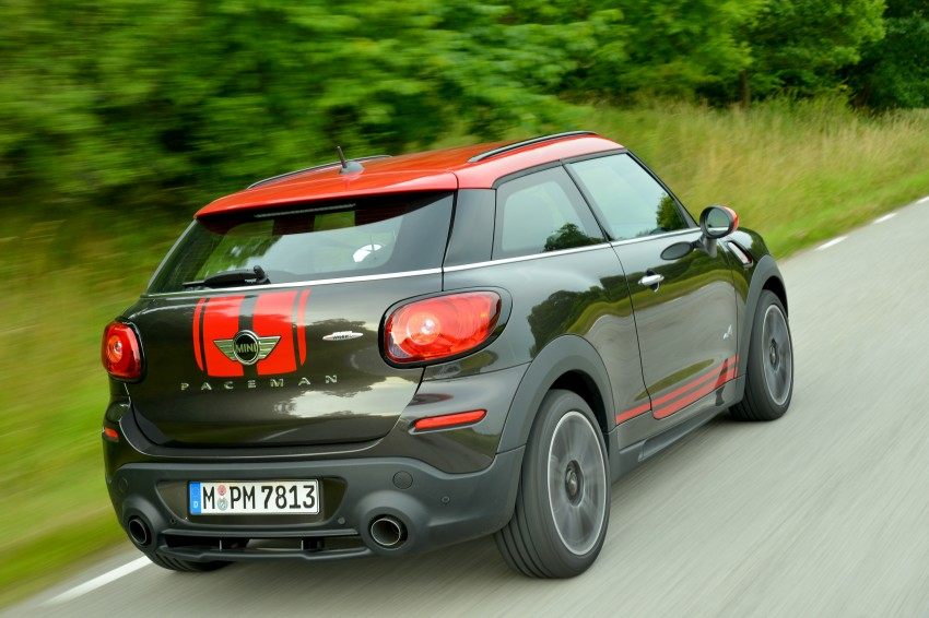 GALLERY: MINI Countryman, Paceman facelift detailed Image #258487