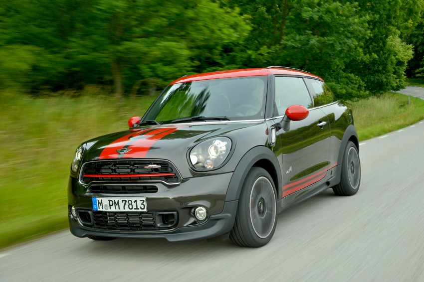 GALLERY: MINI Countryman, Paceman facelift detailed Image #258449