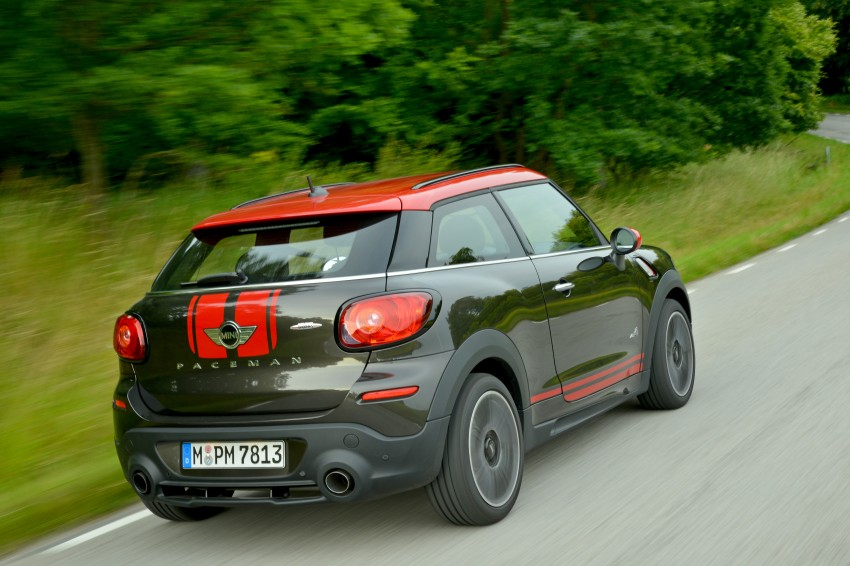 GALLERY: MINI Countryman, Paceman facelift detailed Image #258469