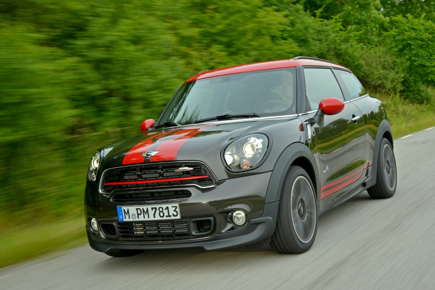 GALLERY: MINI Countryman, Paceman facelift detailed Image #258463