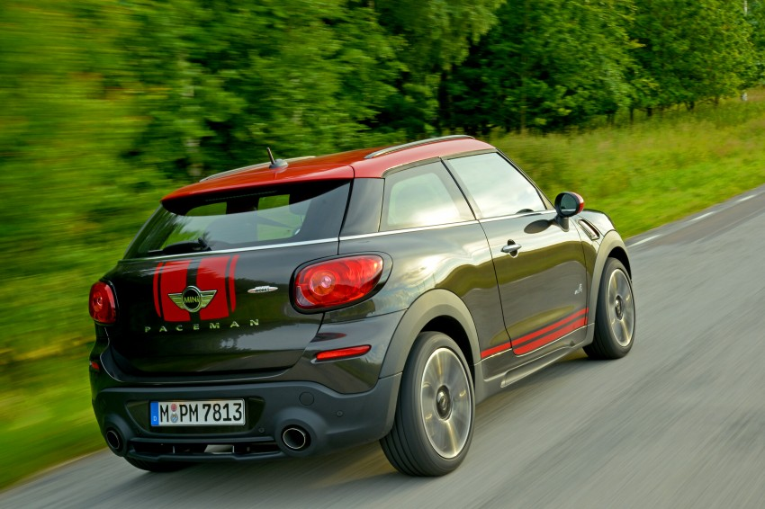 GALLERY: MINI Countryman, Paceman facelift detailed Image #258448