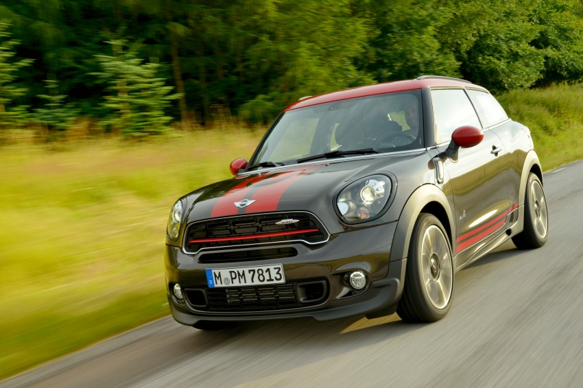 GALLERY: MINI Countryman, Paceman facelift detailed Image #258457