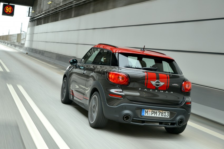GALLERY: MINI Countryman, Paceman facelift detailed Image #258492