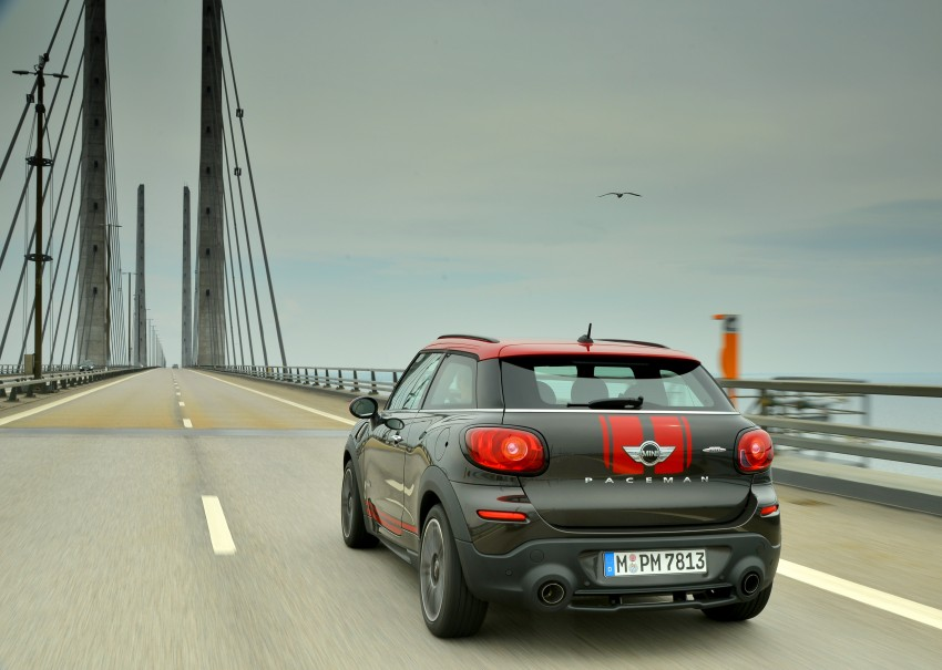 GALLERY: MINI Countryman, Paceman facelift detailed Image #258486