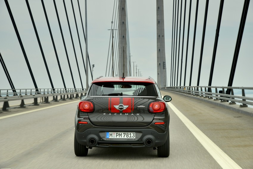 GALLERY: MINI Countryman, Paceman facelift detailed Image #258499