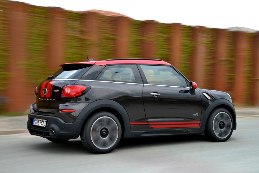 GALLERY: MINI Countryman, Paceman facelift detailed Image #258528
