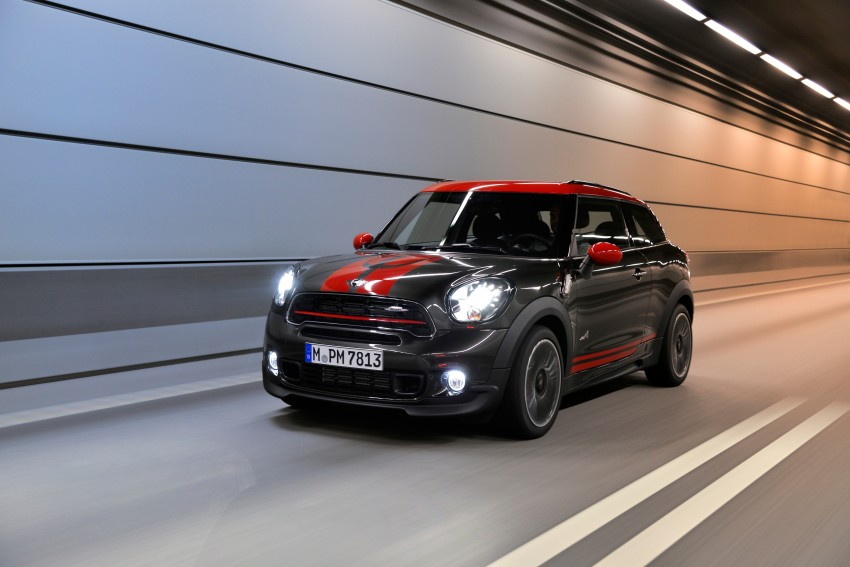 GALLERY: MINI Countryman, Paceman facelift detailed Image #258438