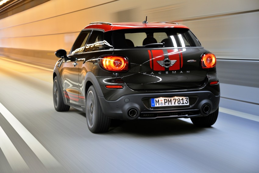 GALLERY: MINI Countryman, Paceman facelift detailed Image #258410
