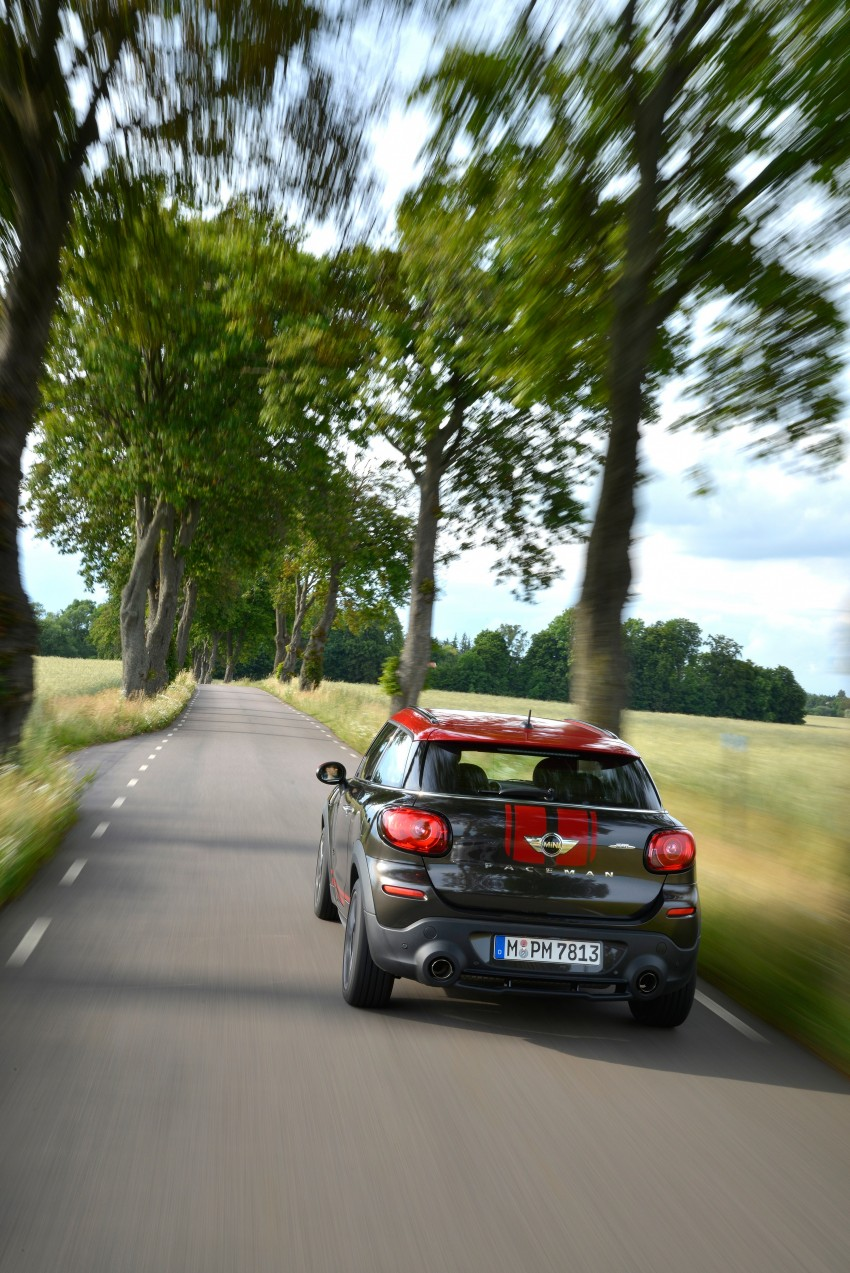 GALLERY: MINI Countryman, Paceman facelift detailed Image #258406