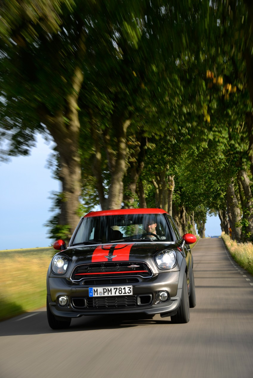 GALLERY: MINI Countryman, Paceman facelift detailed Image #258445
