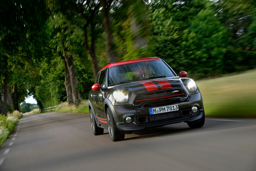 GALLERY: MINI Countryman, Paceman facelift detailed Image #258455