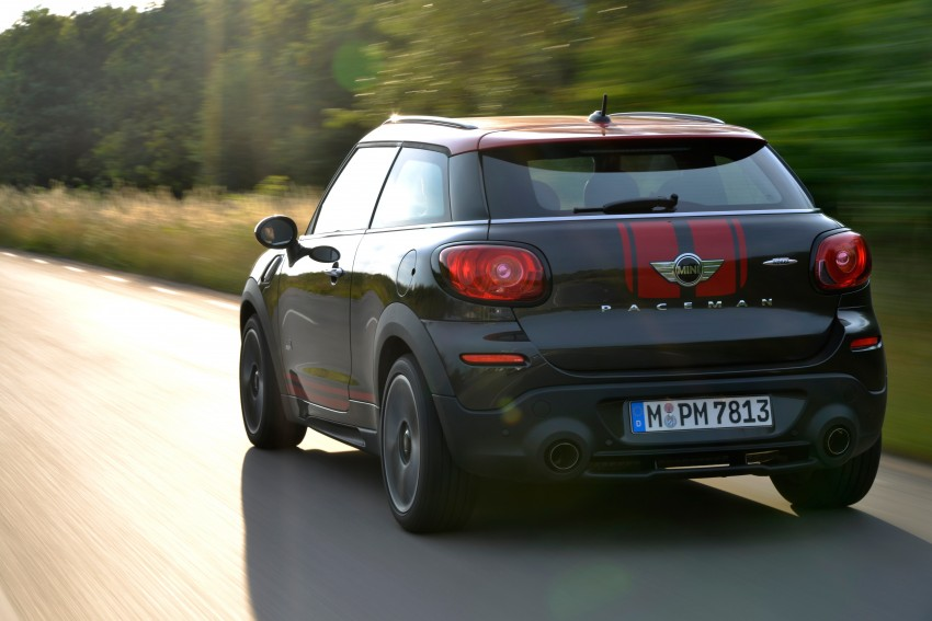 GALLERY: MINI Countryman, Paceman facelift detailed Image #258520