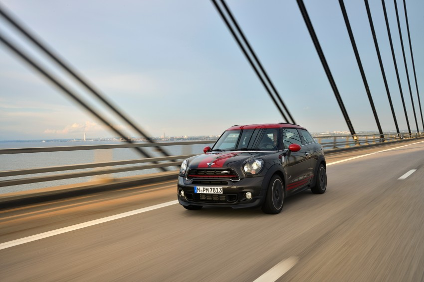 GALLERY: MINI Countryman, Paceman facelift detailed Image #258468