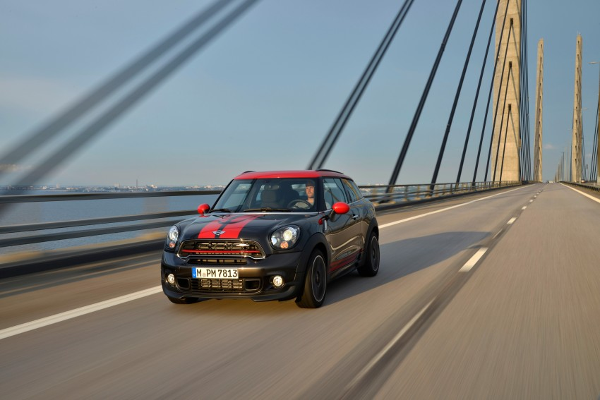 GALLERY: MINI Countryman, Paceman facelift detailed Image #258530