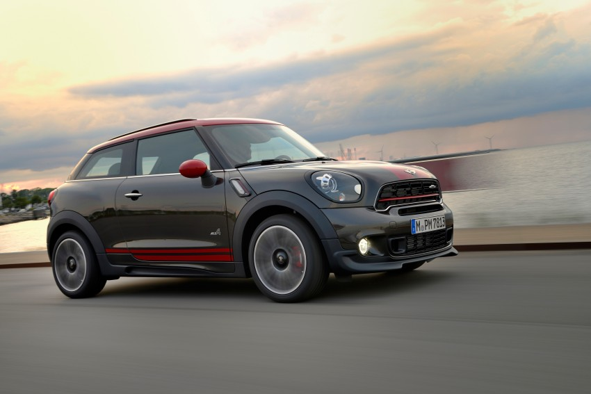 GALLERY: MINI Countryman, Paceman facelift detailed Image #258531