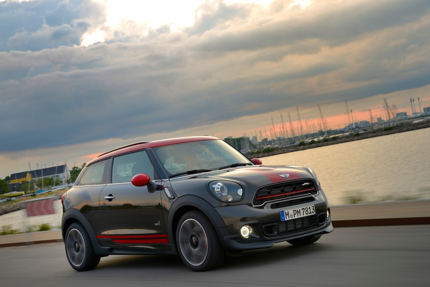 GALLERY: MINI Countryman, Paceman facelift detailed Image #258500